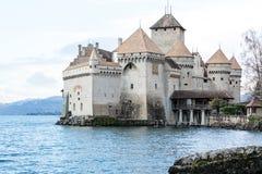 Castello di Chillon Immagine Stock Libera da Diritti