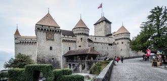 Castello di Chillon Fotografie Stock