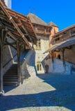 Castello di Chillon a Montreux Fotografia Stock Libera da Diritti