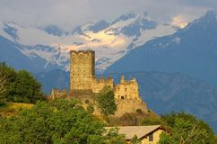 Castello di Cly Stock Images