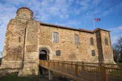 Castello di Colchester in Essex Fotografia Stock