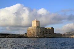 Castello di Colombaia fotografia stock libera da diritti