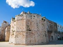 Castello di Conversano. Apulia. Fotografia Stock Libera da Diritti