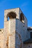 Castello di Conversano La Puglia L'Italia Fotografie Stock