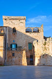 Castello di Conversano La Puglia L'Italia Immagini Stock Libere da Diritti