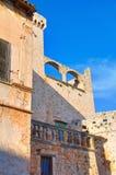 Castello di Conversano La Puglia L'Italia Immagini Stock