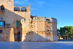 Castello di Conversano La Puglia L'Italia Fotografia Stock Libera da Diritti