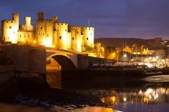 Castello di Conwy, Galles Immagini Stock Libere da Diritti