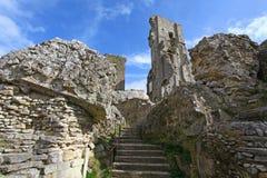 Castello di Corfe Fotografie Stock Libere da Diritti