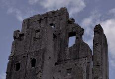 Castello di Corfe Fotografie Stock