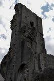 Castello di Corfe Fotografia Stock Libera da Diritti