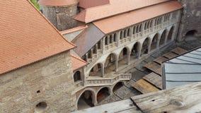 Castello di Corvin Fotografie Stock Libere da Diritti