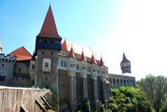 Castello di Corvin della Romania immagini stock libere da diritti