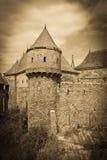 Castello di Corvins Immagini Stock Libere da Diritti
