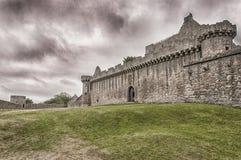 Castello 01 di Craigmillar Immagine Stock