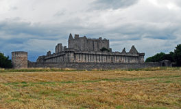 Castello di Craigmillar immagini stock