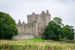 Castello di Craigmillar a Edimburgo, Scozia Fotografia Stock