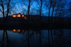 Castello di Creuzburg Fotografia Stock