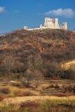Castello di Csesznek in Ungheria Immagine Stock Libera da Diritti