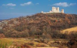 Castello di Csesznek in Ungheria Fotografia Stock Libera da Diritti