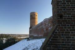 Castello di Czersk Immagini Stock Libere da Diritti