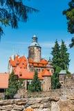 Castello di Czocha, castello difensivo nel villaggio di Czocha, Polonia fotografia stock libera da diritti