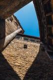 Castello di Czocha, castello difensivo nel villaggio di Czocha, Polonia immagini stock