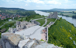 Castello di Devin Fotografie Stock