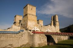 Castello di Diosgyor fotografie stock