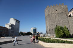 Castello di Diyarbakir Immagini Stock