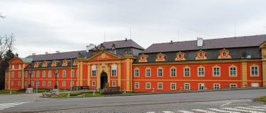 Castello di Dobris - repubblica Ceca Fotografie Stock Libere da Diritti