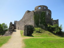 Castello di Dolwyddelan, Llandeilo Immagini Stock