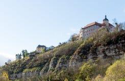 Castello di Dornburg vicino a Jena Immagine Stock Libera da Diritti
