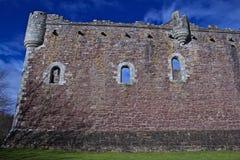 Castello di Doune in Scozia e l'insieme centrali di Monty Python fotografie stock
