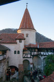 Castello di Dracula in Romania Fotografia Stock Libera da Diritti