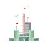 Castello di Dragonlord Immagine Stock