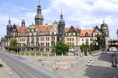 Castello di Dresda Germania Fotografia Stock Libera da Diritti