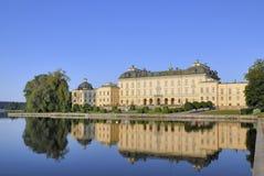 Castello di Drottningholm Fotografia Stock