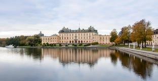 Castello di Drottningholm Fotografie Stock Libere da Diritti