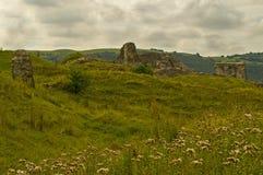 Castello di Dryslwyn Immagini Stock