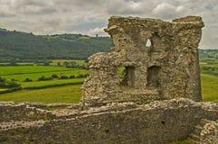 Castello 13 di Dryslwyn Fotografia Stock Libera da Diritti