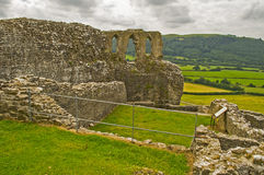 Castello 15 di Dryslwyn Fotografie Stock