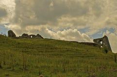 Castello 4 di Dryslwyn Fotografie Stock