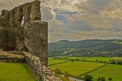 Castello 6 di Dryslwyn Immagini Stock Libere da Diritti