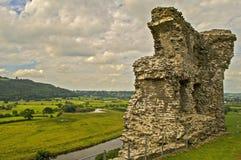 Castello 8 di Dryslwyn Immagine Stock Libera da Diritti