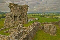 Castello 9 di Dryslwyn Immagini Stock