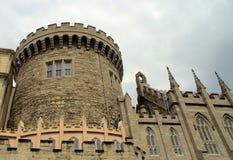 Castello di Dublino Fotografia Stock Libera da Diritti