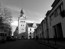 Castello di duchi di Pomeranian in Szczecin Fotografie Stock