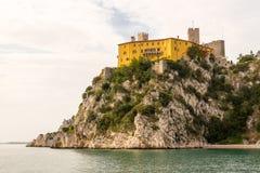 Castello di duino 免版税库存照片