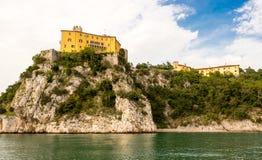 Castello di duino Arkivbild